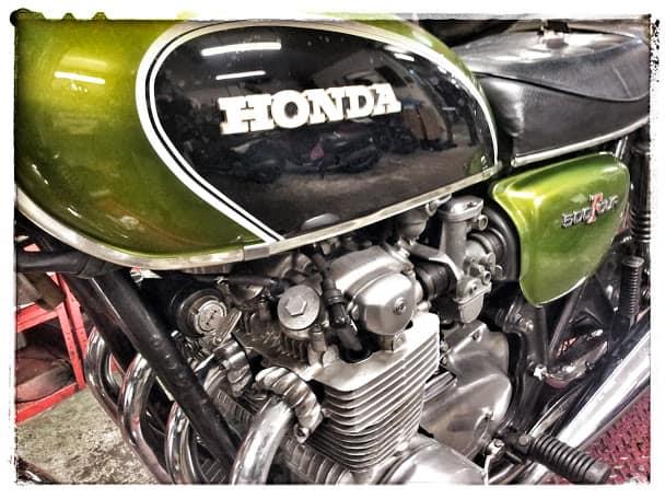 Honda CB 500 1972 restauration par Chambourcy Motos