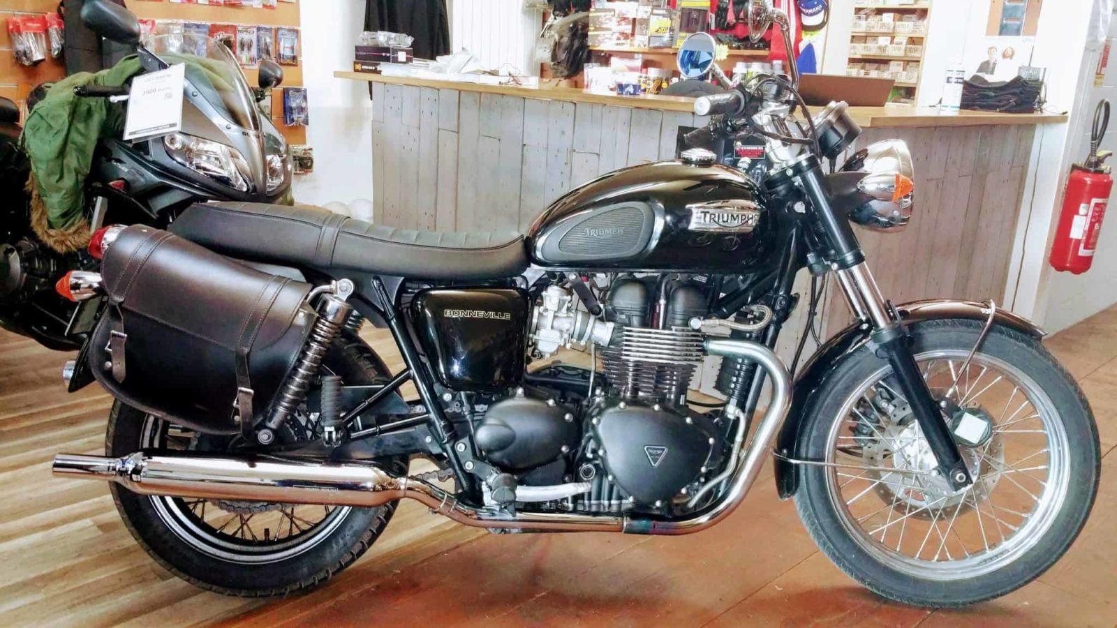 Vendue ! Triumph Bonneville 865 T100 – 6500€