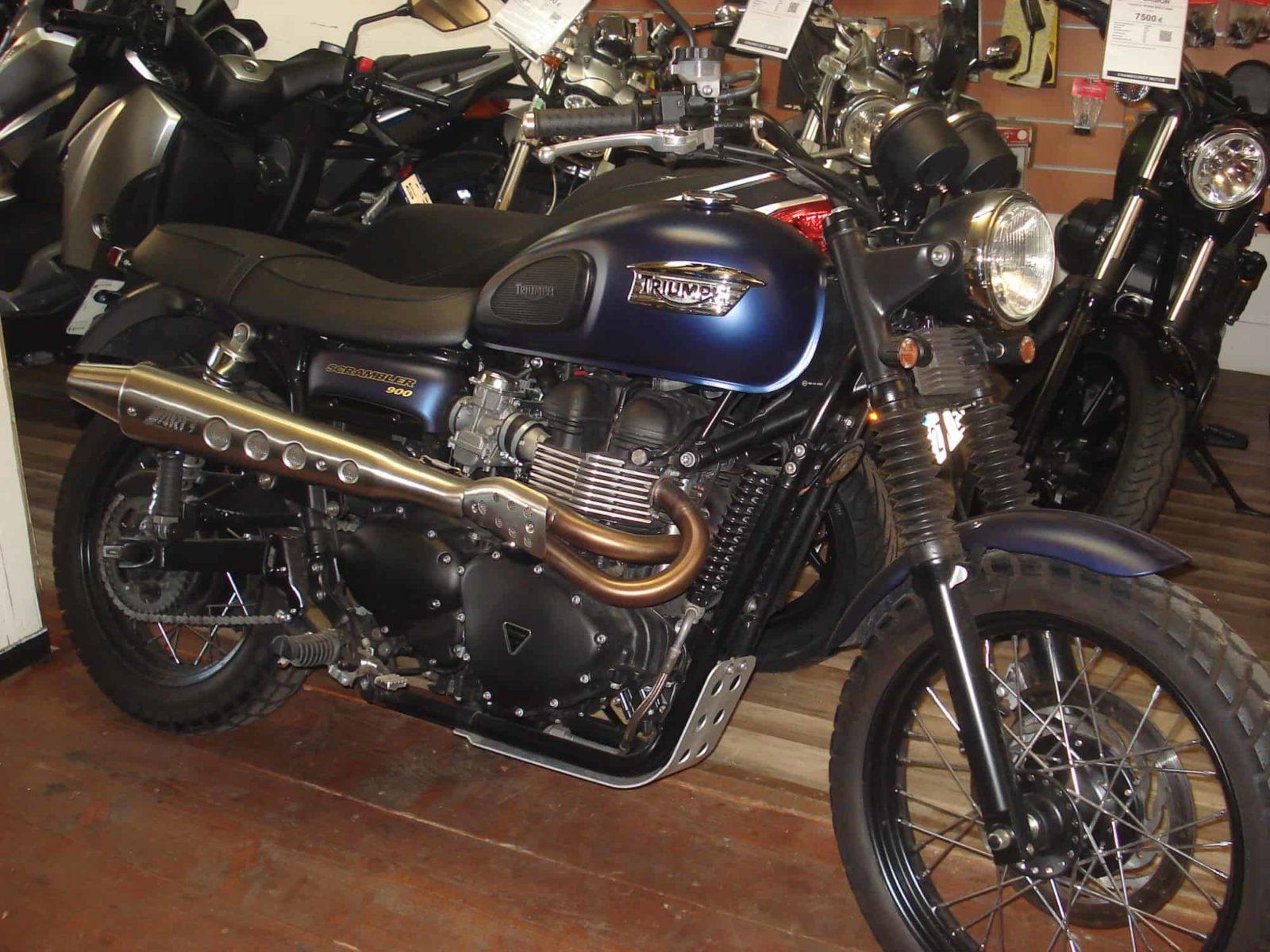 Vendu ! Triumph Scrambler – 7900€