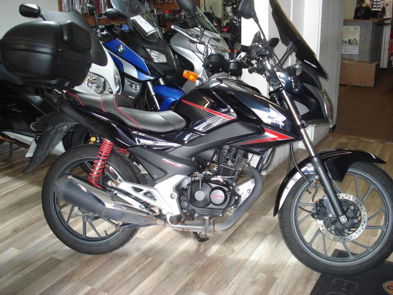 Vendu ! Honda CBF125 – 1650€