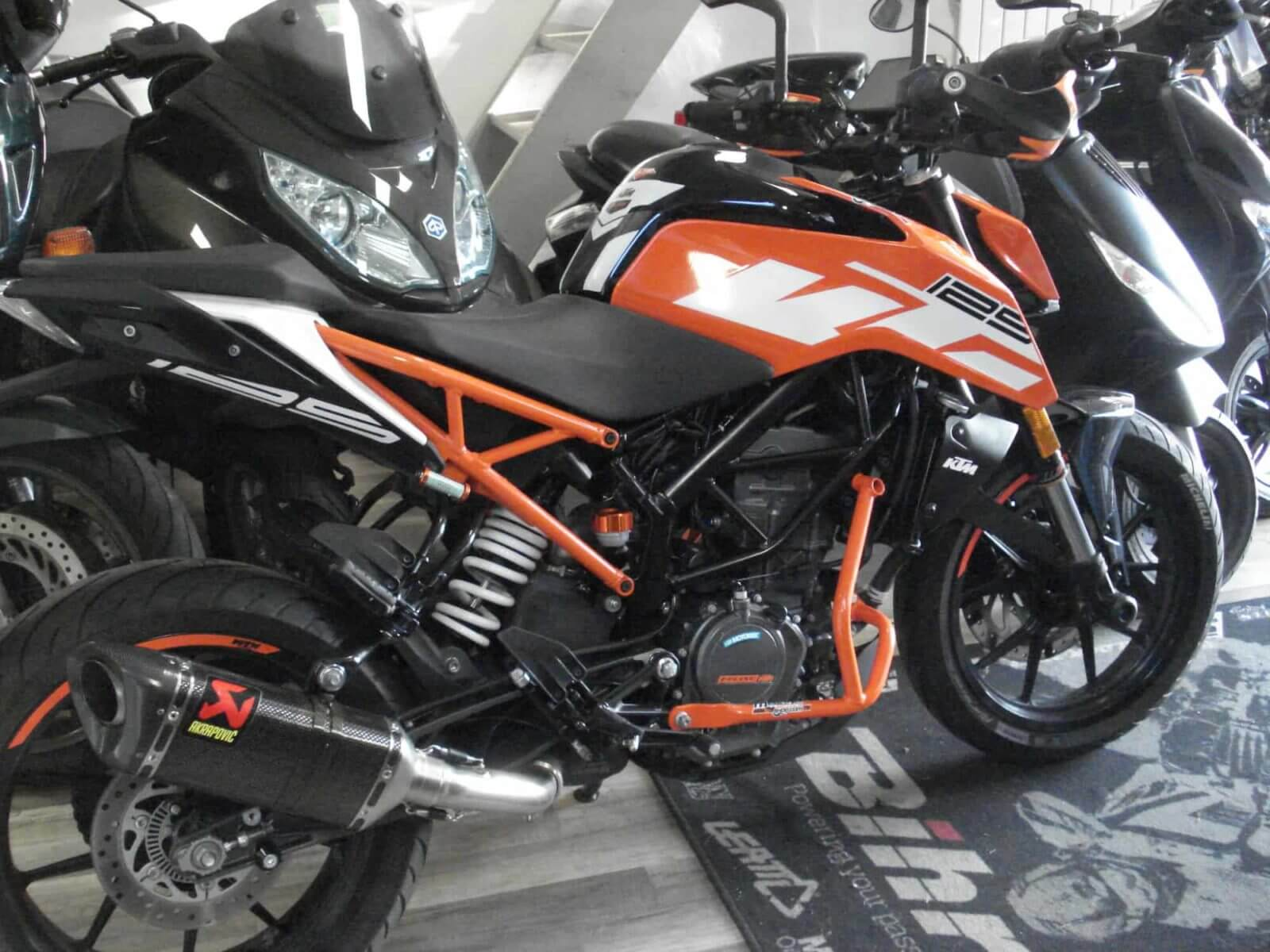 Vendu ! KTM 125 Duke – 4000€