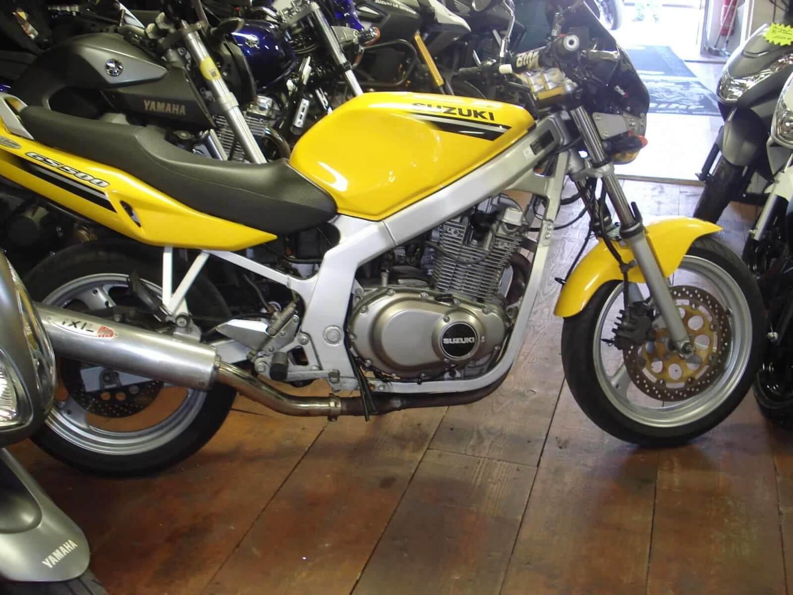 Vendu ! Suzuki GS 500E – 1950€