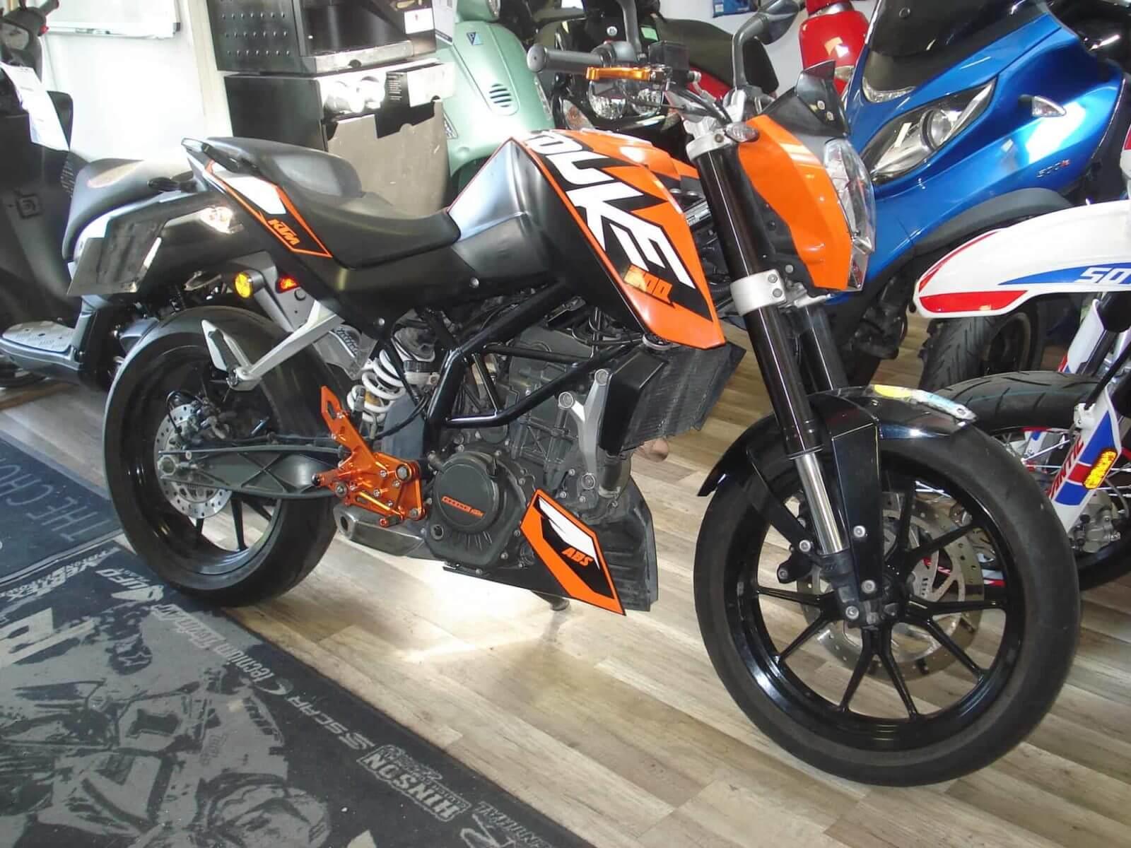 Vendu ! KTM 200 Duke – 2500€