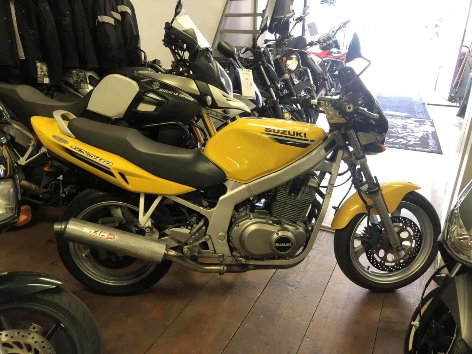 Vendu ! Suzuki GS 500 E – 2300€