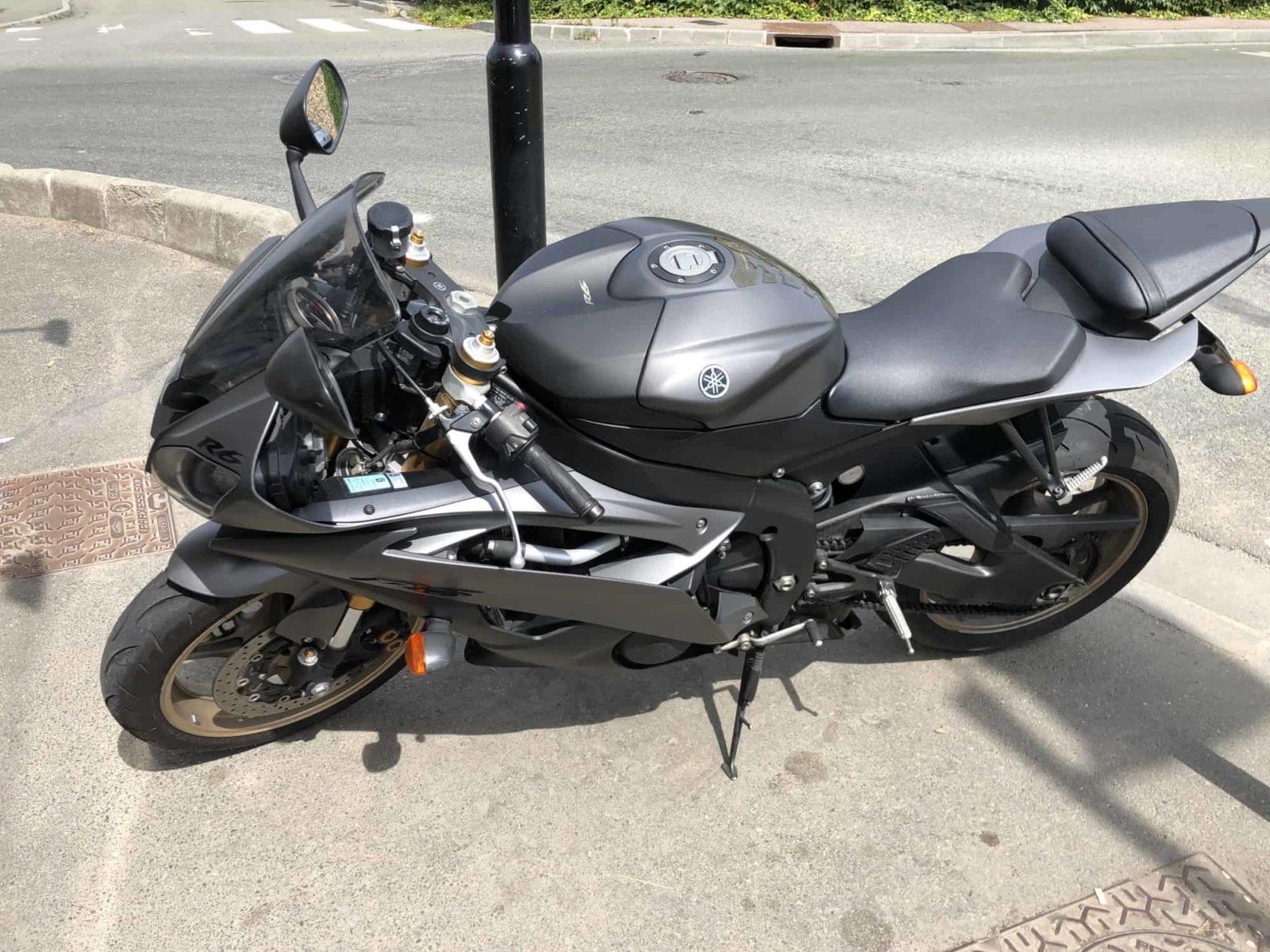 Vendu ! Yamaha YZF-R6 – 7800€