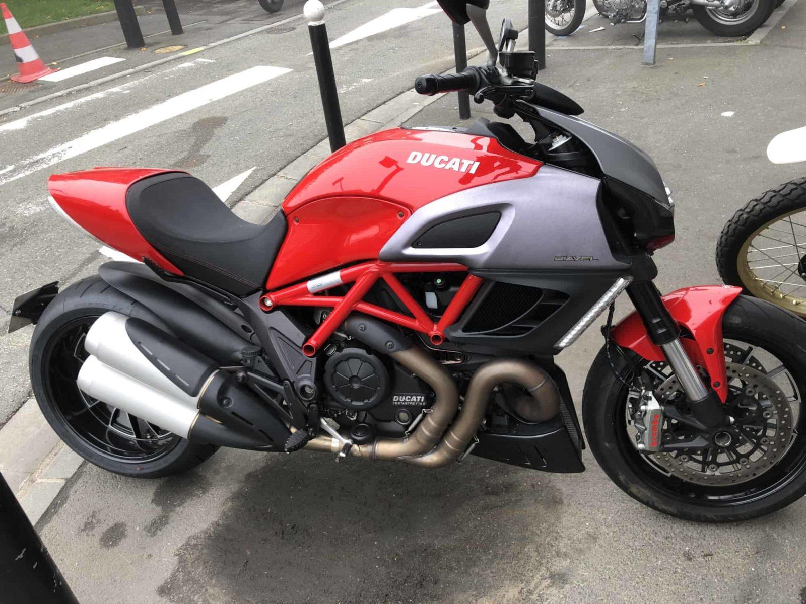 Vendu ! Ducati Diavel – 9990€