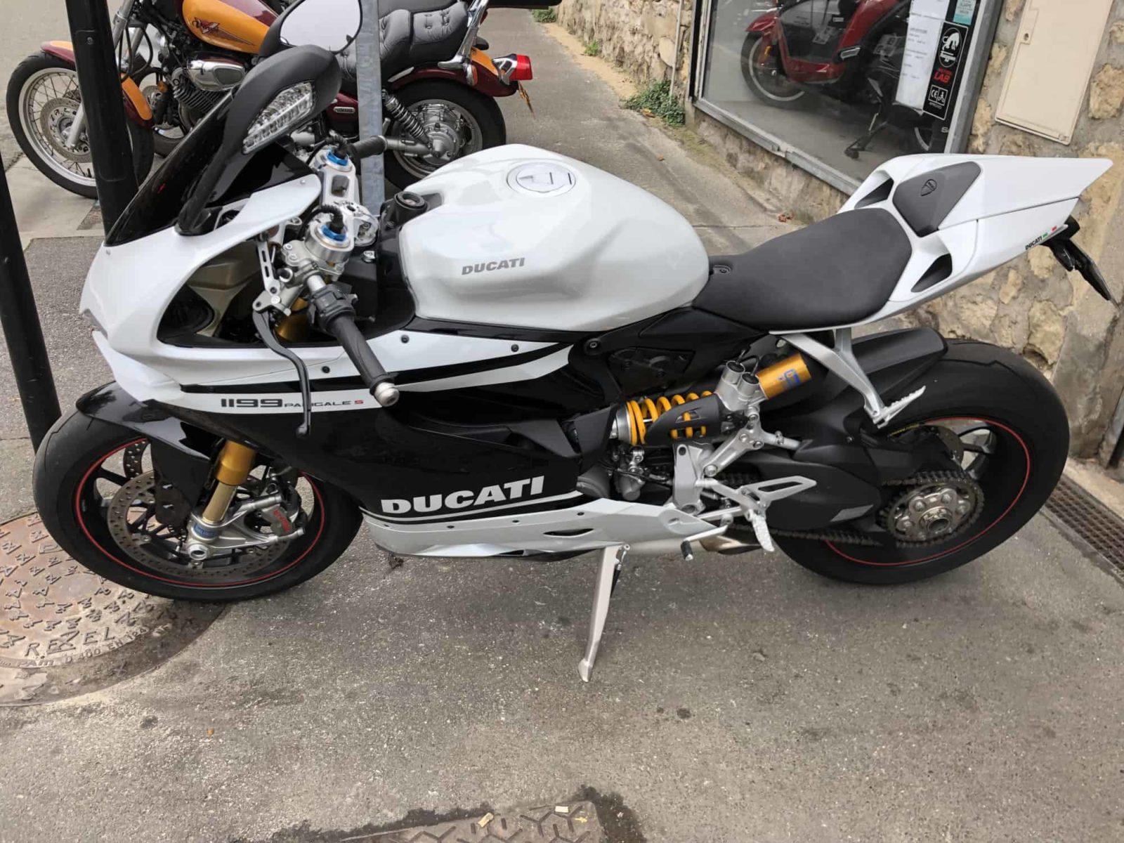 Vendu ! Ducati Panigale 1199 – 14990€