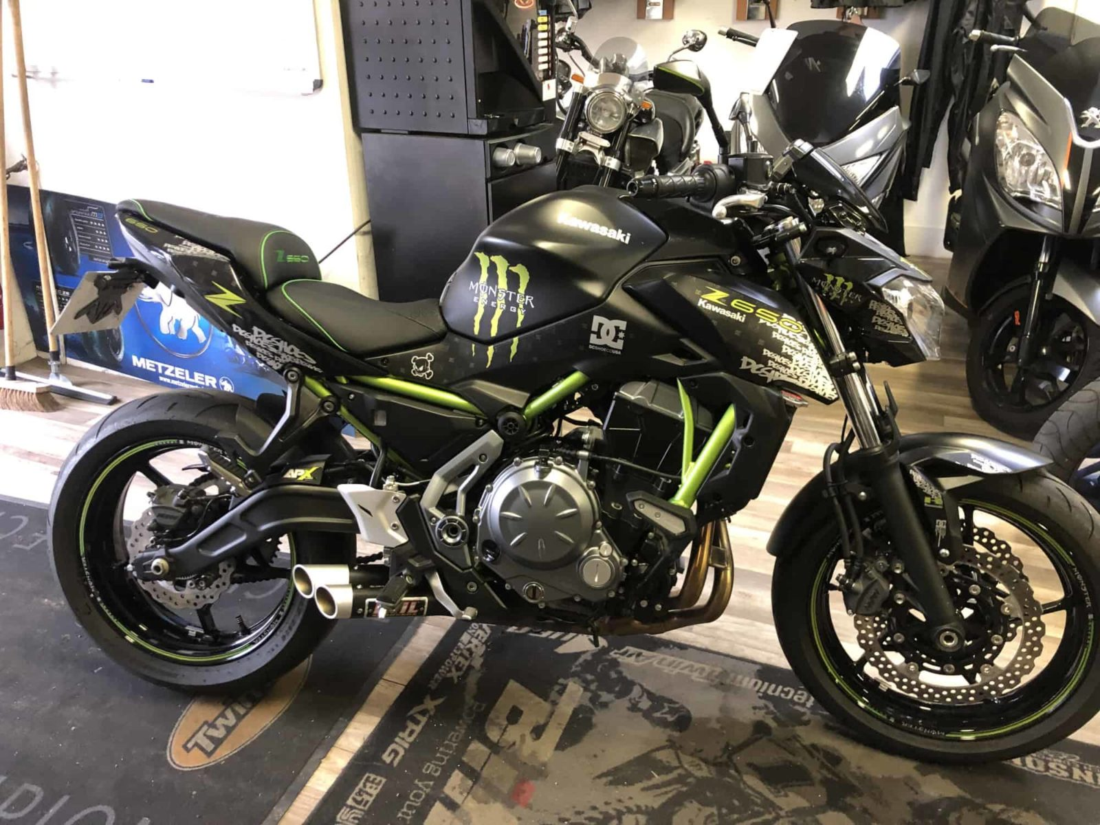Vendu ! Kawasaki Z650 – 6700€