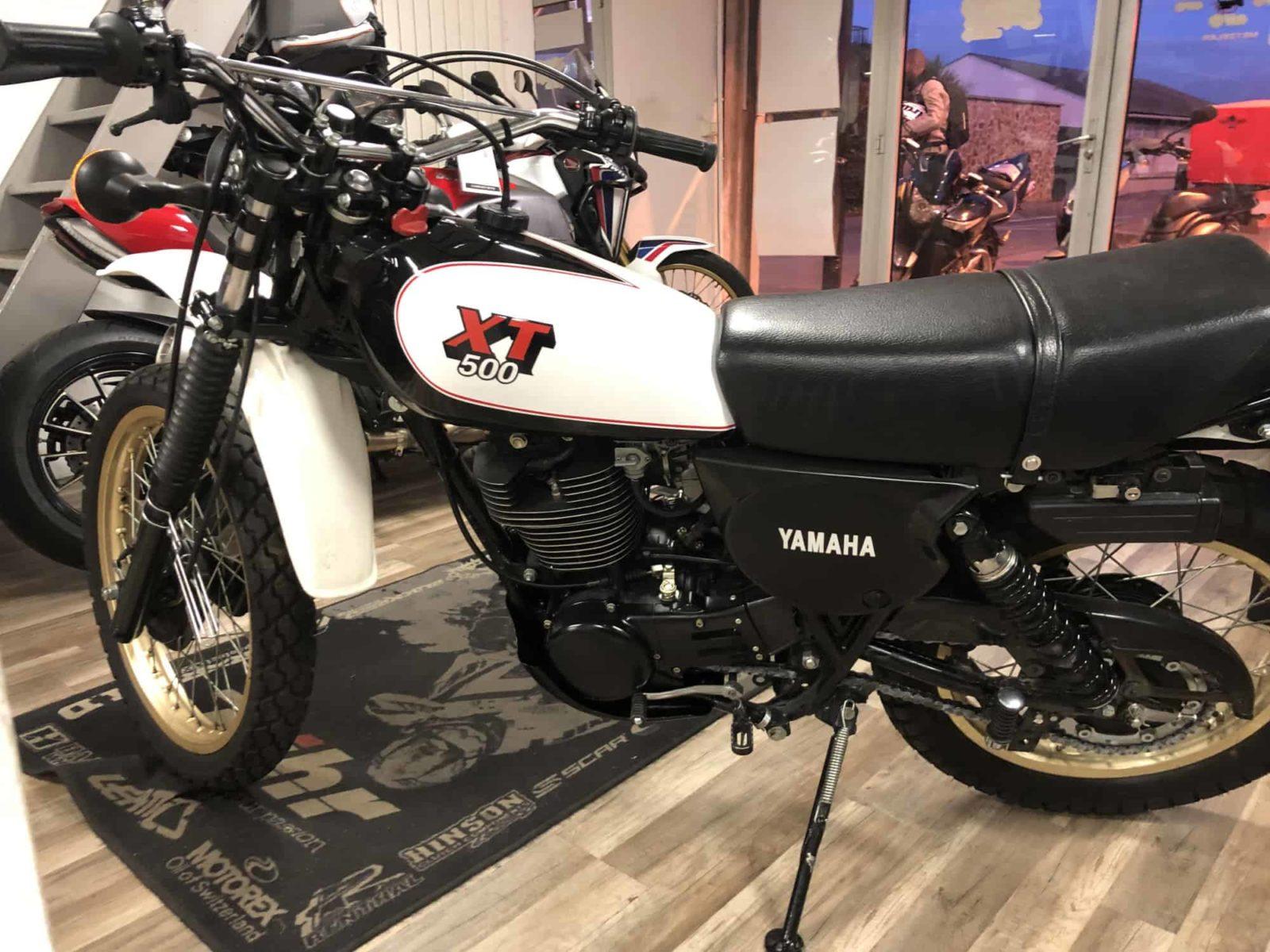 Vendu ! Yamaha XT500 – 5490€