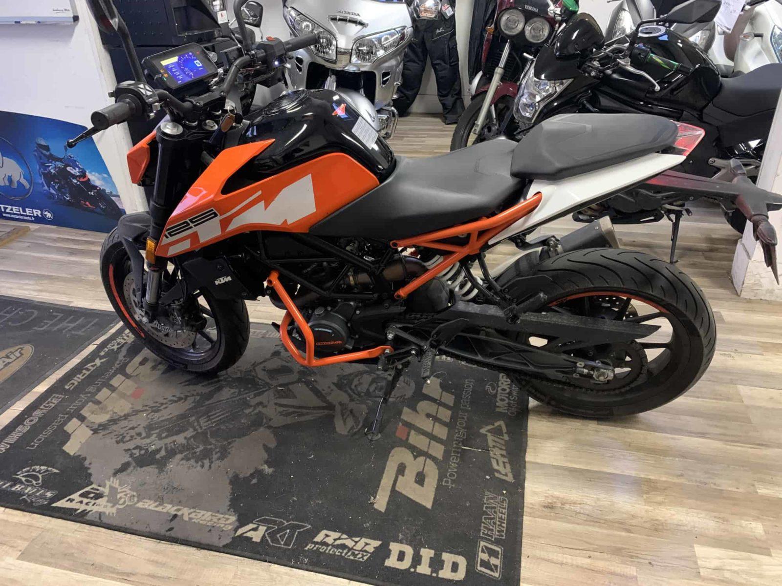 Vendu ! KTM 125 Duke – 3800€