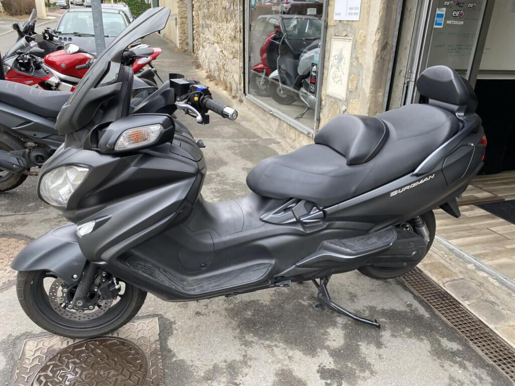 Vendu ! Suzuki Burgman 650 – 7990€