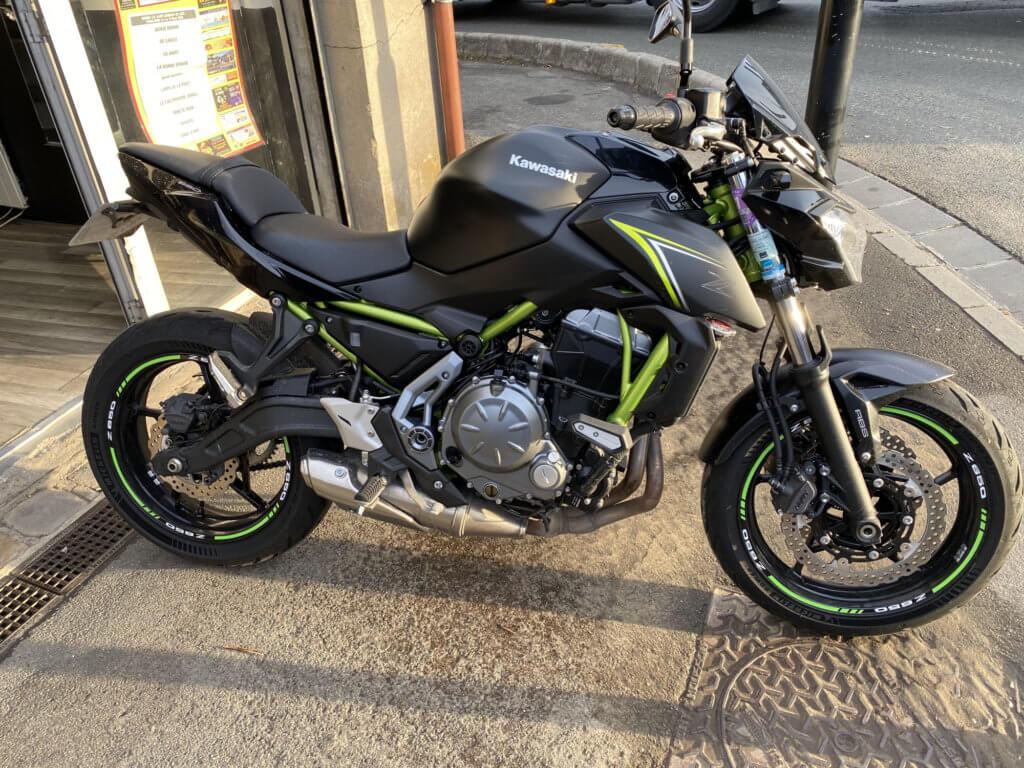 Kawasaki Z650 en vente chez Chambourcy Motos - Motos roadster garantie 3 mois. Concessionnaire Kawasaki