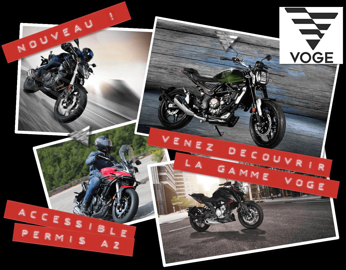 Les Motos VOGE sont chez Chambourcy Motos 78
