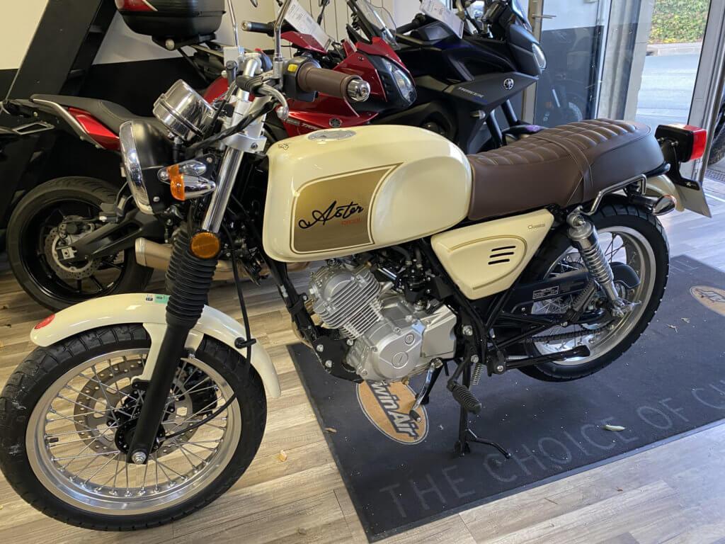 Orcal Astor 125 d'occasion en vente chez Chambourcy Motos