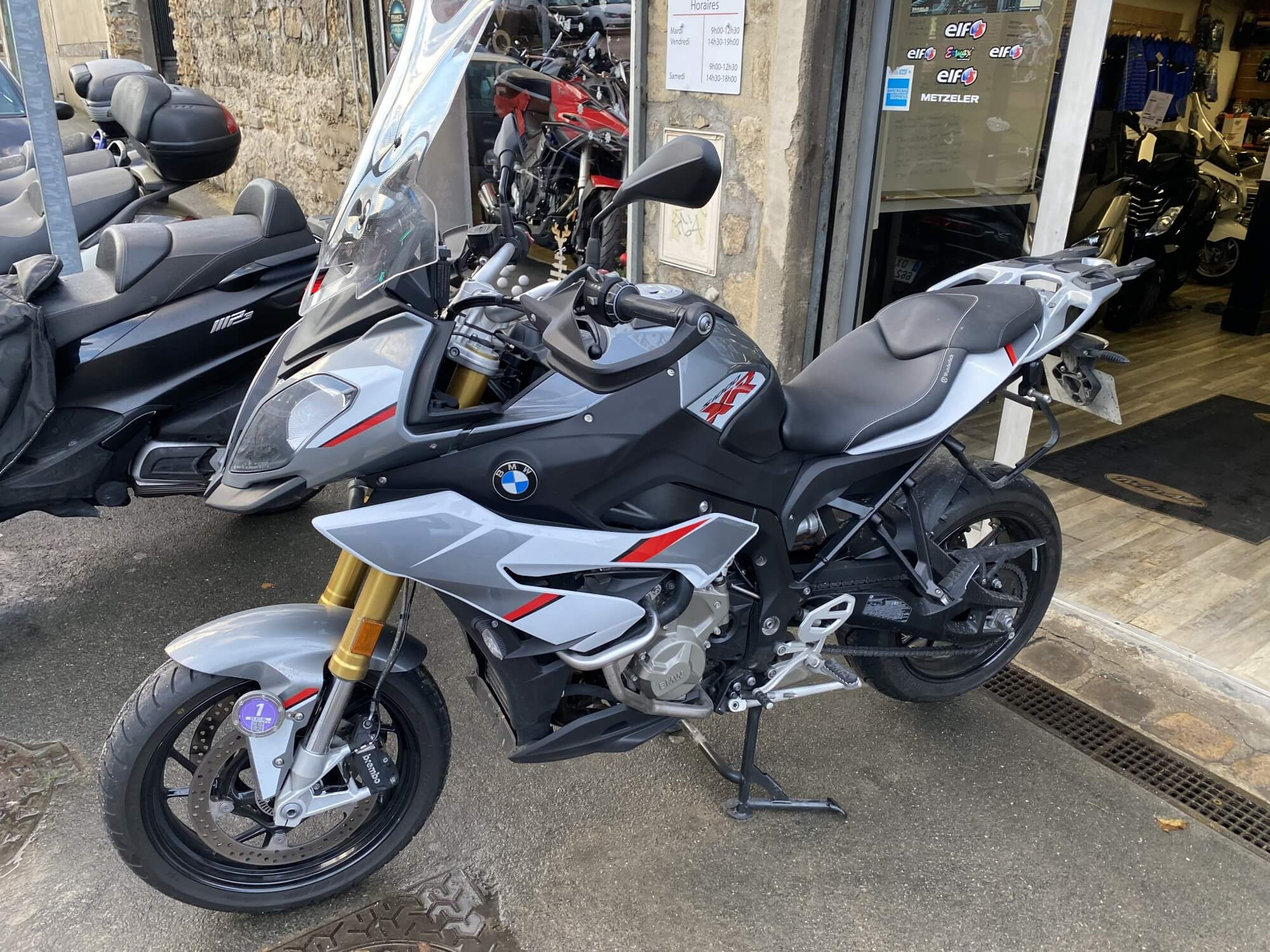 bmw s 1000 d'occasion chez Chambourcy motos 78